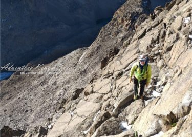 Technical guided ascents and treks on Mt Kenya