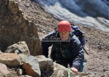 rock climbing expeditions to Batian and Nelio